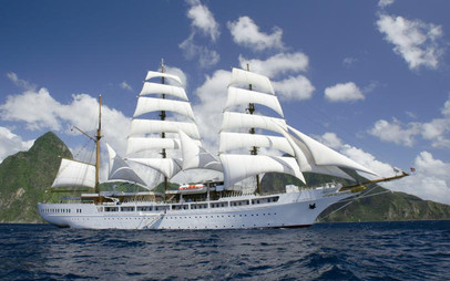 Segelkreuzfahrten mit der Sea Cloud 2 von Sea Cloud Cruises